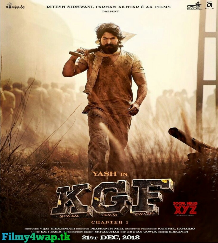 KGF Chapter 1 (2018) South Indian Hindi Dubbed Movie